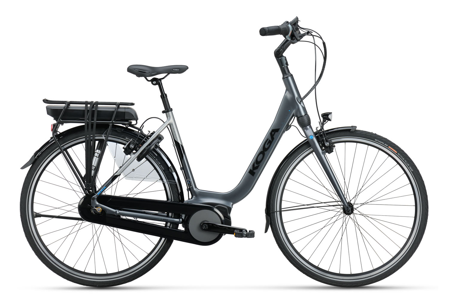 "E-Nova Lady 28""/53 Grey Metallic/Silver Smoke 400W"